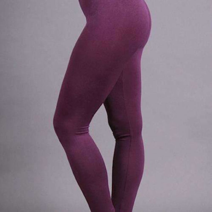 Coobie Womens Seamless Ankle Leggings Plum / One (0-10) Leggings