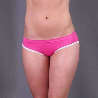 Coobie Womens Seamless Bikini Panties Heavenly Pink Underwear