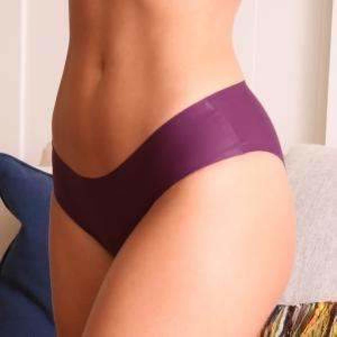 Coobie Womens Super Stretch Smooth Edge Bikini Panties Panties