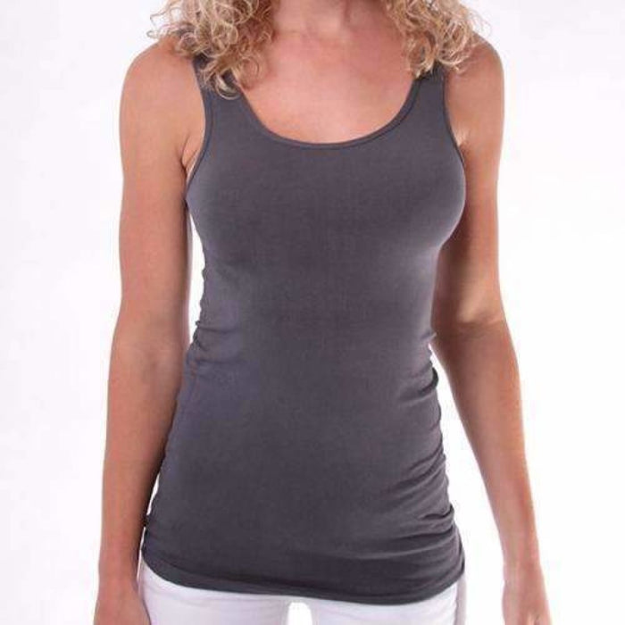 Coobie Womens Ultra Stretch Wide Strap Camisole Camisoles & Camisole Sets