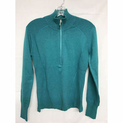 Eddie Bauer Womens Half Zip Pullover Sweater S / Cool Mint Sweaters