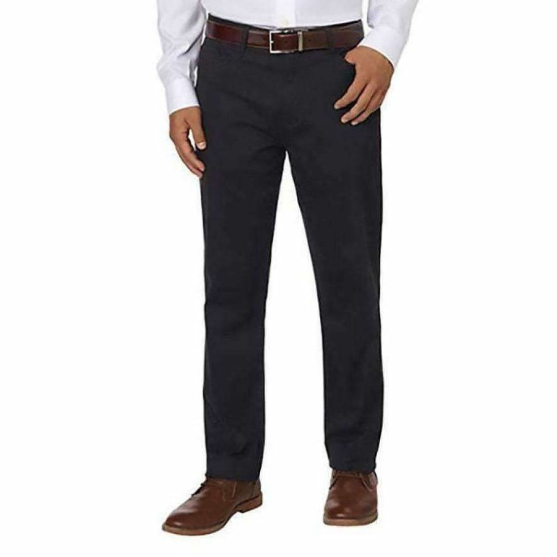 English Laundry Mens Arrogant Soft Touch Straight Leg Pant 30X32 Forged Iron Pants
