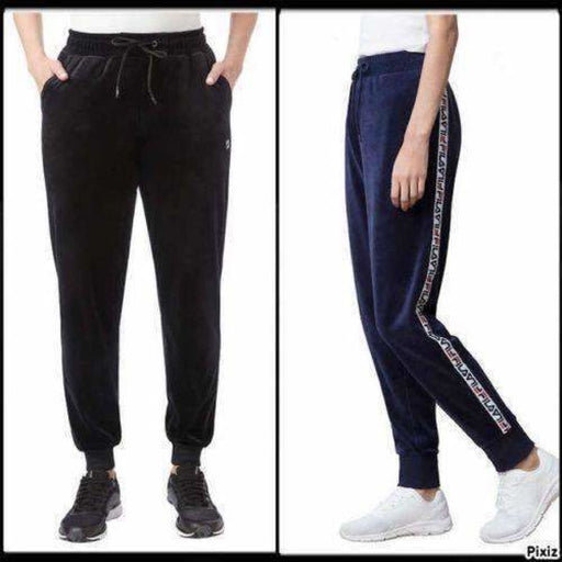 Fila Ladies Velour Jogger Pant Athletic Apparel