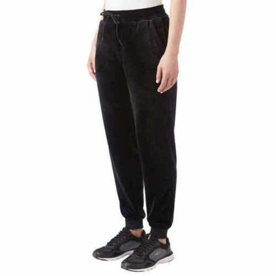 Fila Ladies Velour Jogger Pant Xl / Black Athletic Apparel