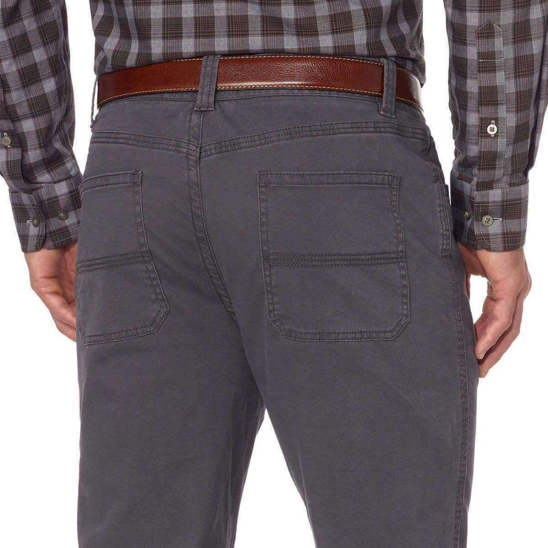 Bass Mens Brushed Twill Pant G.H