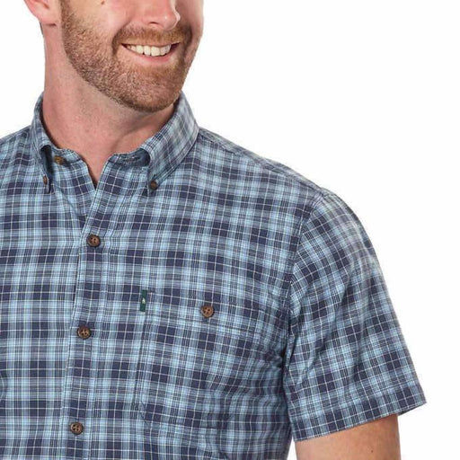 G.h. Bass & Co. Mens Short Sleeve Woven Shirt Casual Shirts