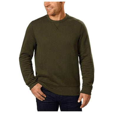 G. H. Bass Mens Crew Neck Sweatshirt M / Forest Night Ht Sweatshirts & Hoodies