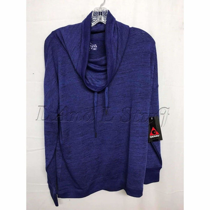 Gerry Cowl Neck Womens Pullover Sweater S / Tanzanite Sweaters
