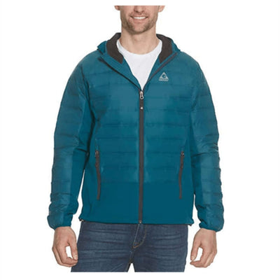 Gerry Mens Hybrid Sweater Down Jacket M / Docker Blue Coats & Jackets