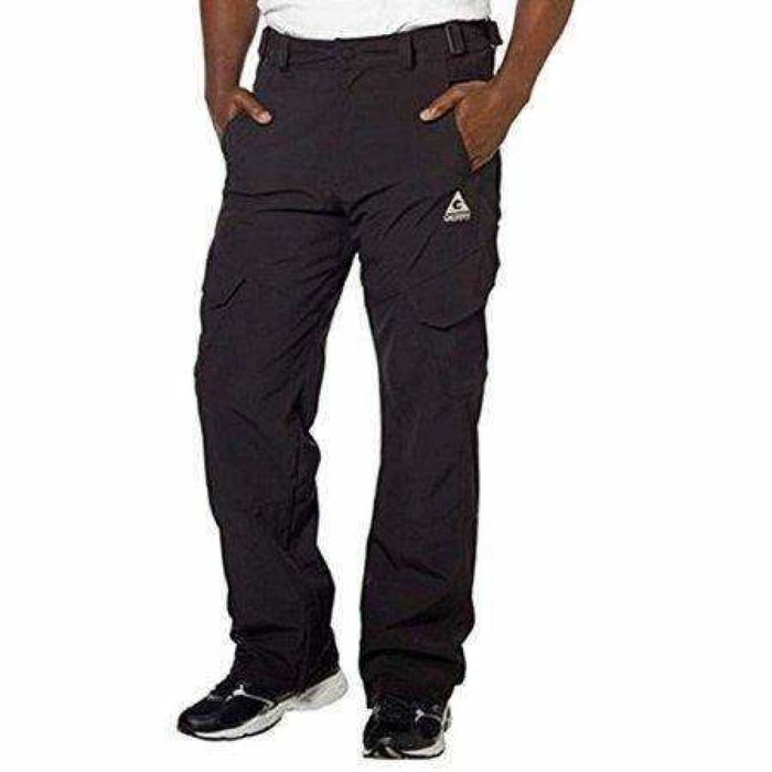 Gerry Mens Snow Pants 4-Way Stretch Water Resistant Black / L Pants