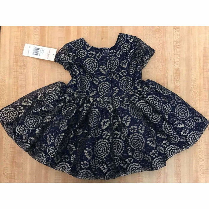 Girls Nanette Lepore Baby/toddler Lacy Dress With Diaper Cover Dresses