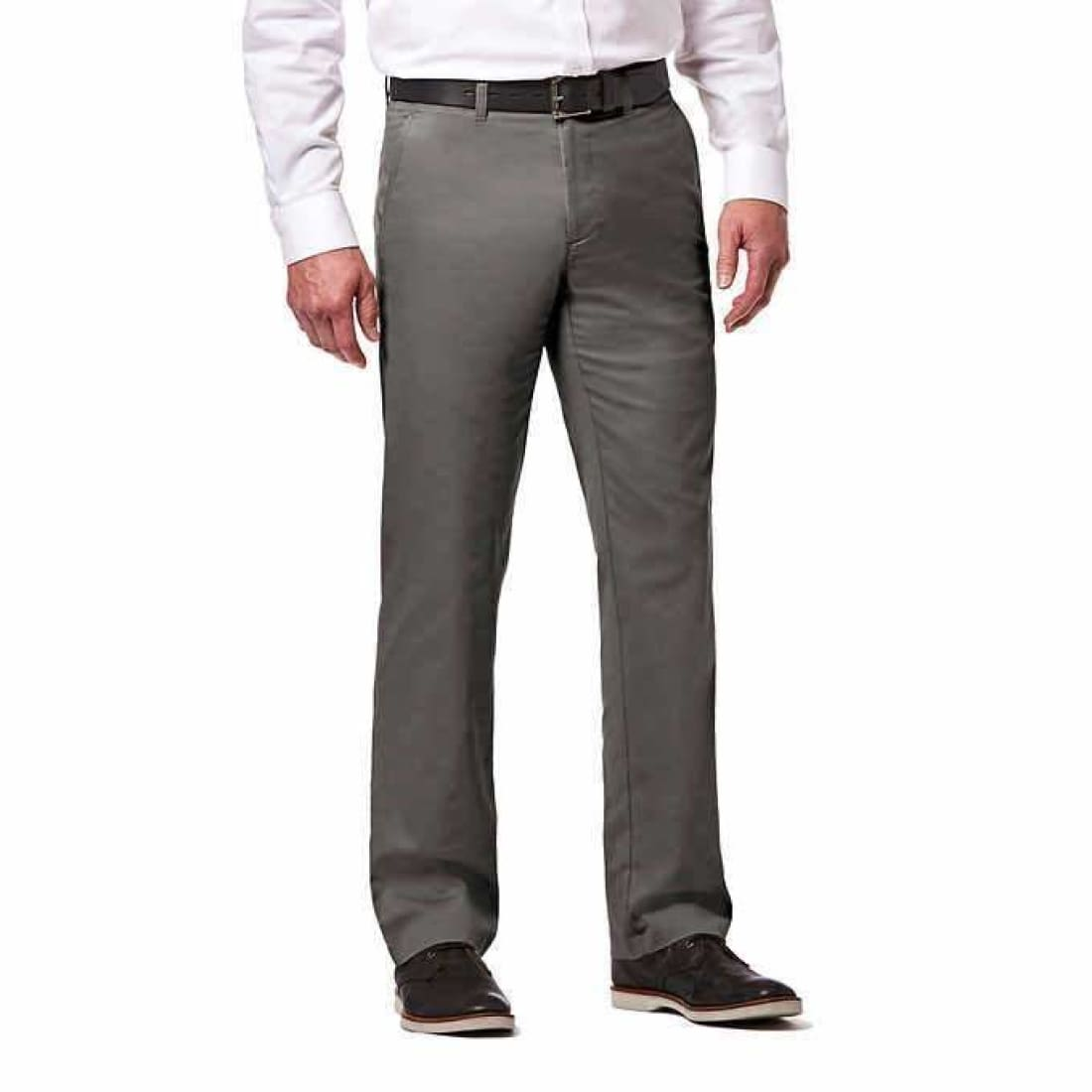 Haggar Mens Sustainable Stretch Chino Pant Pants