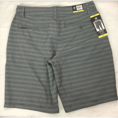 Hang Ten Mens Cruze Hybrid Casual Shorts 32 / Grey/white Shorts