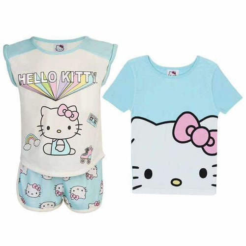 Hello Kitty Girls 3-Piece Pajama Set Sleepwear