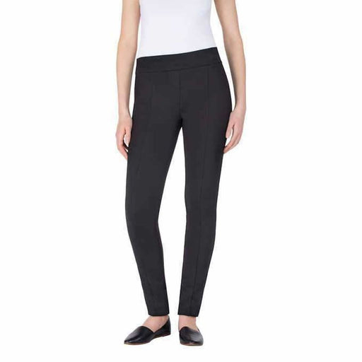 Hilary Radley Ladies Stretch Ponte Pant 4 / Black Pants