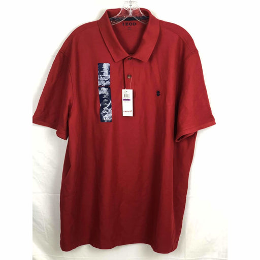 Izod Mens Advantage Short Sleeve Performance Polo Casual Shirts