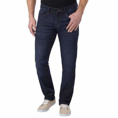 Izod Mens Comfort Stretch Straight Fit Jean (Open Package) Jeans