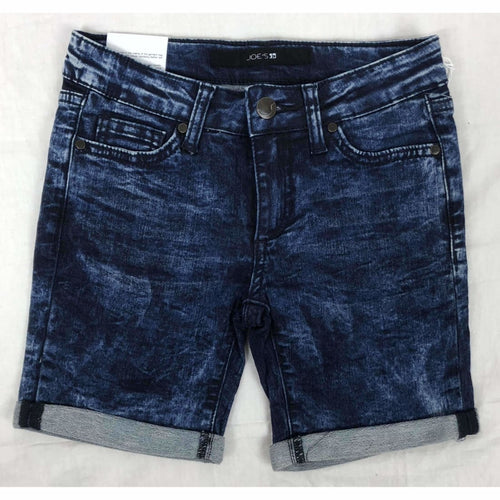Joes Girls The Finn Mid Rise Bermuda Shorts Dark Wash 6 Pants
