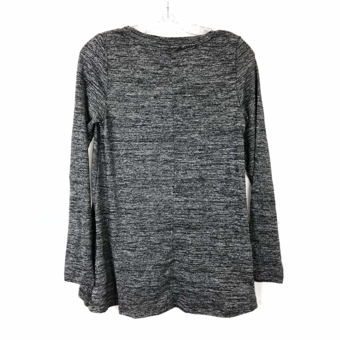 Jones New York Womens Knit Tunic Top Long Sleeve High-Low Hem Tops & Blouses