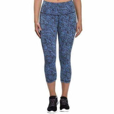 Kirkland Signature Ladies Active Crop Tight S / Blue Athletic Apparel