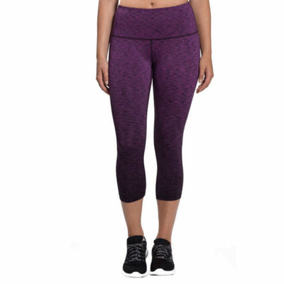 Kirkland Signature Ladies Active Crop Tight S / Purple Athletic Apparel