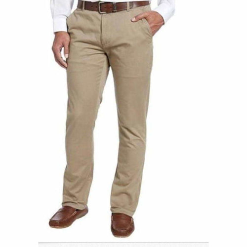 Kirkland Signature Mens Chino Pant Tailored Fit Straight Leg Size 34x30 - Pants & Shorts