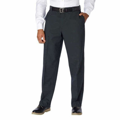 Kirkland Signature Mens Non-Iron Comfort Pant 34 X 30 / Black Pants