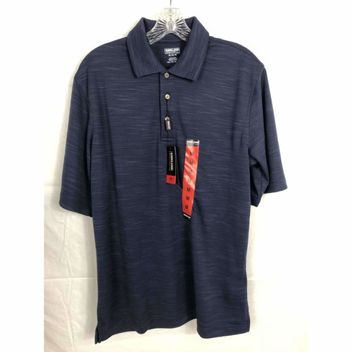 Kirkland Signature Mens Performance Polo Dk. Blue Medium Casual Shirts