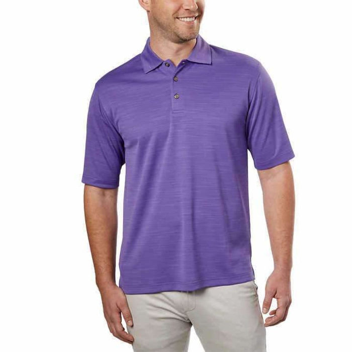 Kirkland Signature Mens Performance Polo M / Purple Casual Shirts