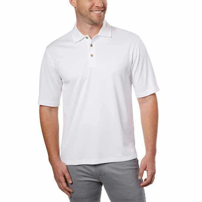 Kirkland Signature Mens Performance Polo M / White Casual Shirts