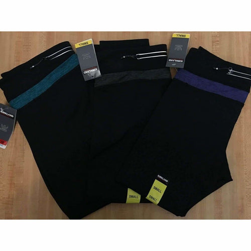 Kirkland Signature Womens 3/4 Active Legging Leggings