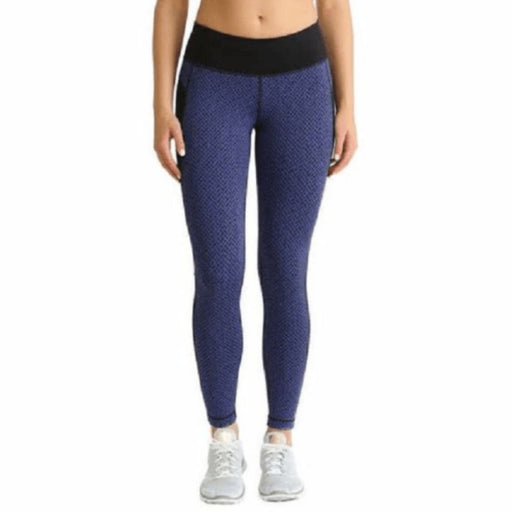 Kirkland Signature Womens Active Thights S / Blue/black Athletic Apparel