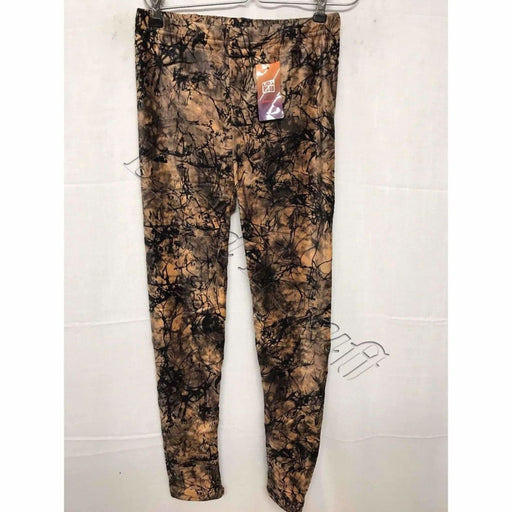Lida Womens Printed Fleece Leggings Regular / S/m Leggings