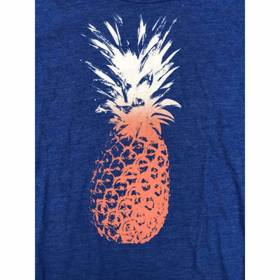 Lucky Brand Womens Graphic Tee Short Sleeve Xl / Blue T-Shirts