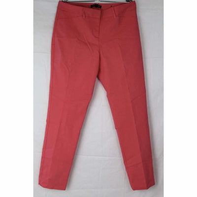 Mario Serrani Womens Comfort Stretch Slim Fit Ankle Length Pant 4X27 / Coral Pants & Shorts