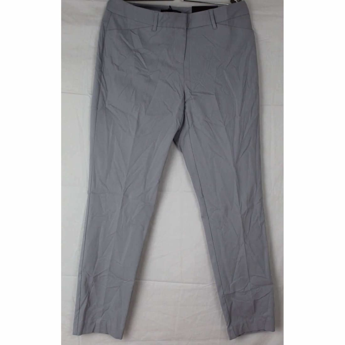 Mario Serrani Womens Comfort Stretch Slim Fit Ankle Length Pant 4X27 / Dove Grey Pants & Shorts