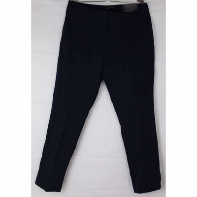 Mario Serrani Womens Comfort Stretch Slim Fit Ankle Length Pant 6X27 / Dk Navy Pants & Shorts