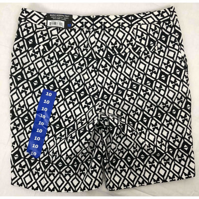 Mario Serrani Womens Italy Comfort Stretch Shorts Pants & Shorts