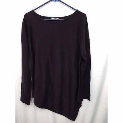 Matty M Asymmetrical Sweater Womens Sweaters