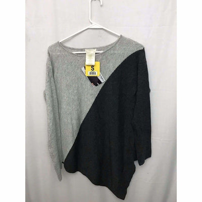 Matty M Asymmetrical Sweater Womens S / Grey/charcoal Sweaters