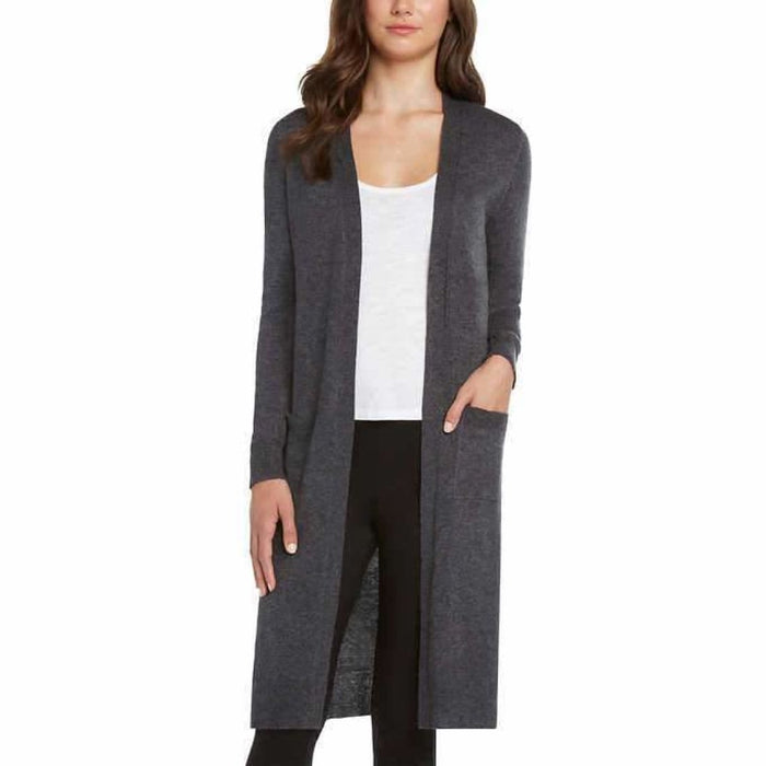 Matty M Ladies Open Front Cardigan Duster Cardigan Duster