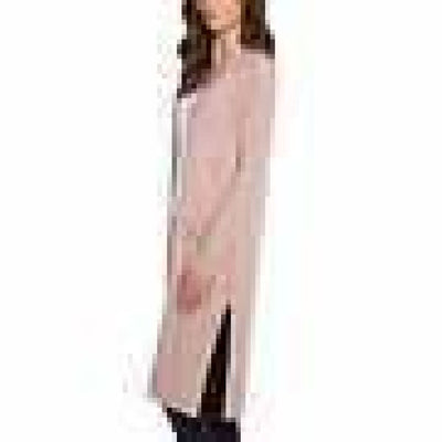 Matty M Ladies Open Front Cardigan Duster (Open Package) Xl / Pink Cardigan Duster