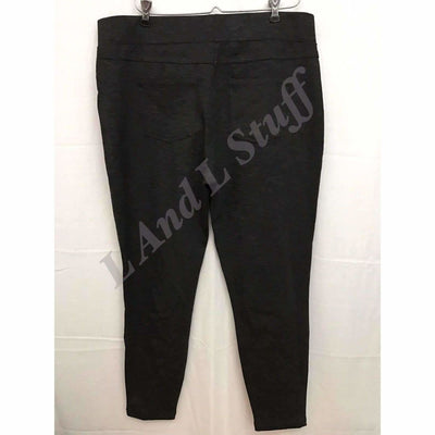 Matty M Slub Ponte Pants Pull On Legging Womens Sizes Leggings
