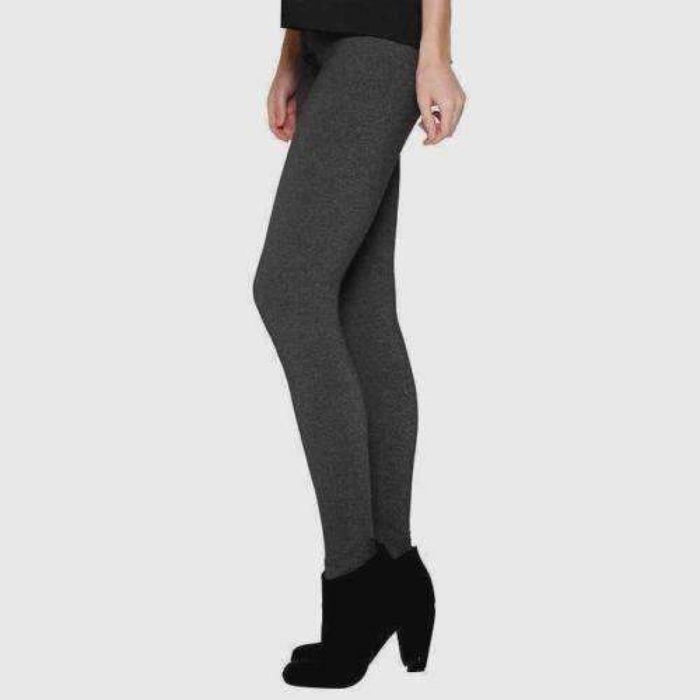 Matty M Womens Waistband Leggings S / Charcoal Leggings