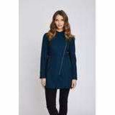 Mia Melon Houston Rain Jacket Small / Deep Teal Coats & Jackets