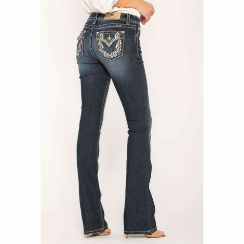 Miss Me Lucky Daydream Bootcut Jean Style#: M3347B / D872 Jeans