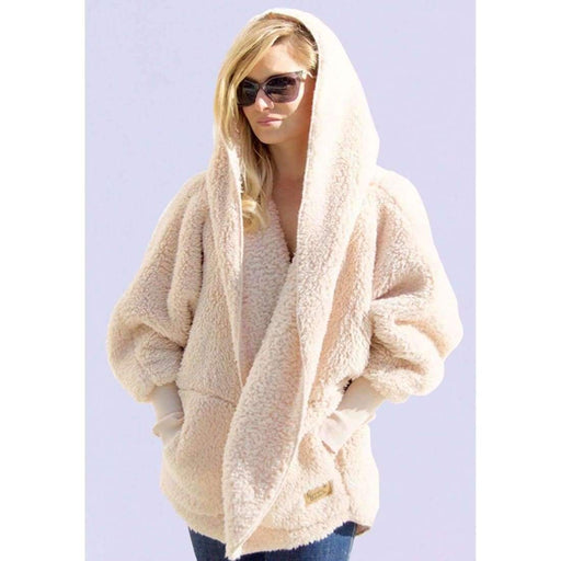 Nordic Beach Soft Cozy Body Wrap Fluffy Frappe Scarves & Wraps