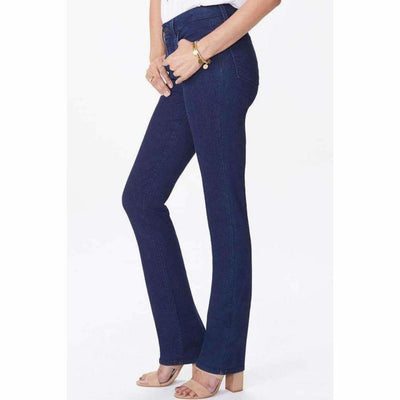Nydj Marilyn Straight Jeans 6 / Rinse Jeans