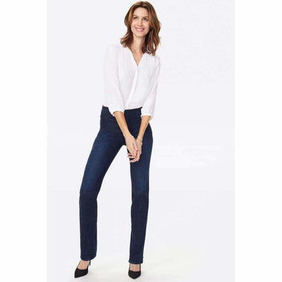Nydj Marilyn Straight Pull-On Jeans Jeans