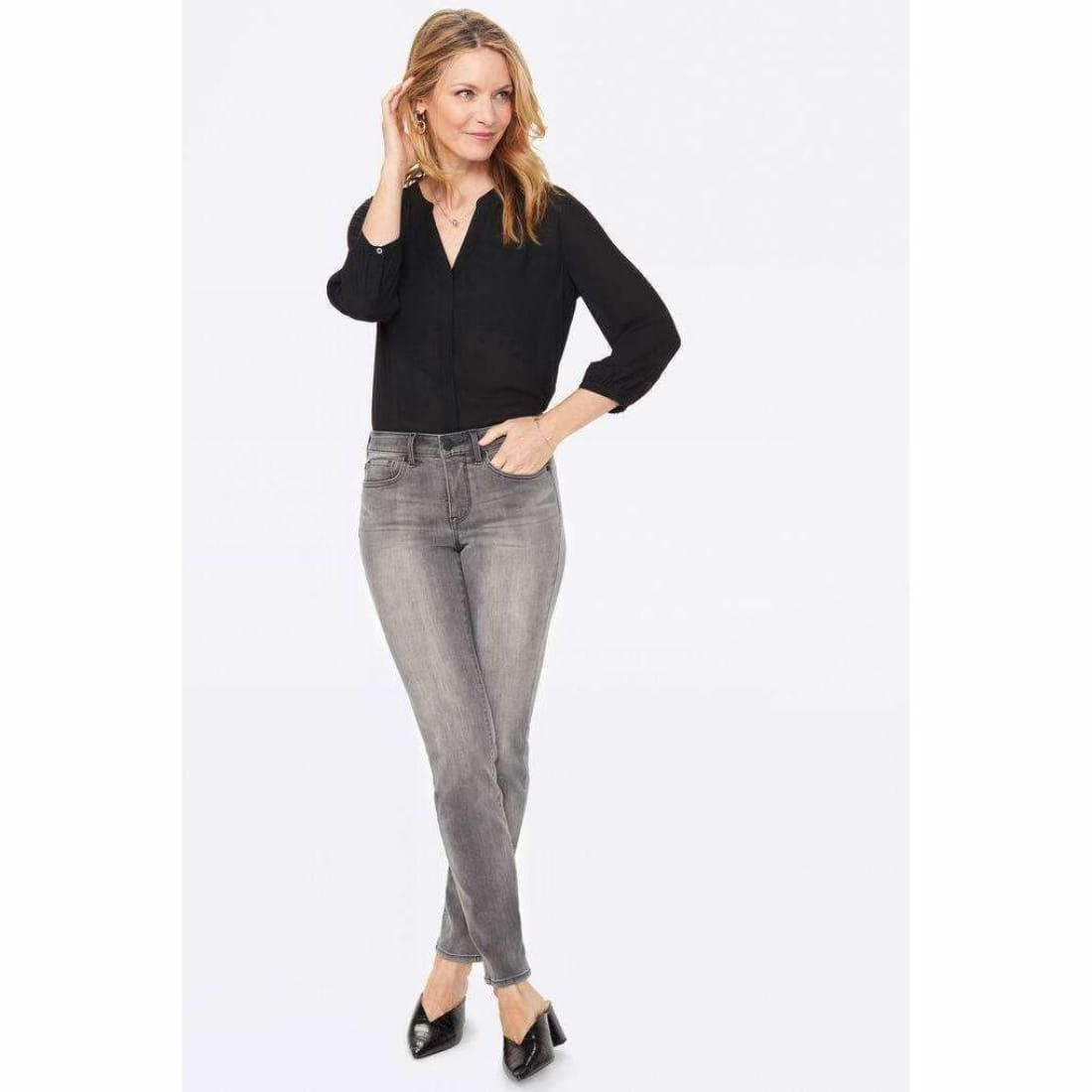 Nydj Sheri Slim Jeans Color Tullie 6 Jeans